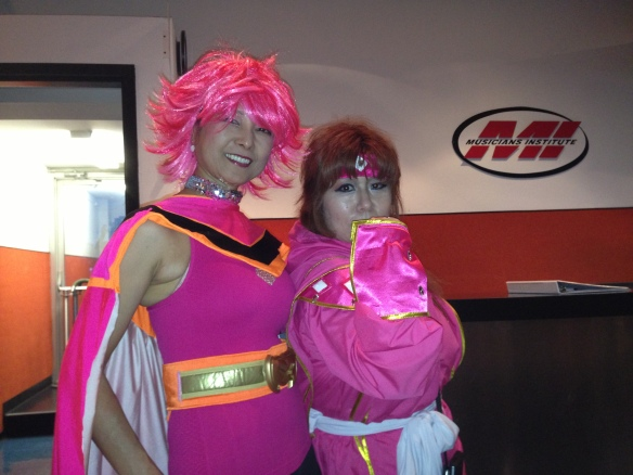 Amy Kiss (Cutie Honey) and Amy Singer (Cat's Eye). Photo credit: K. Clark